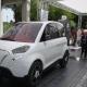 Първият български електромобил от понеделник е по пътищата