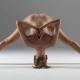 Инструкторка по йога с гола фотосесия