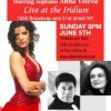 "Anna Veleva presents ""Opera on Broadway"" with special guests Alejandro Olmedo and Victoria Tzotzkova"