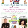 Anna Veleva's Easter Dinner  & Concert, April 16th at 4pm