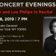 Kevork Mardisorrian and Lee Philips In Recital