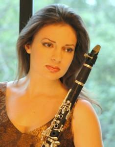 Denitsa Laffchieva, clarinet